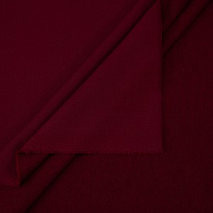 Ткань на отрез футер 3-х нитка диагональный цвет бордовый