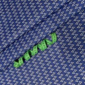 Ткань на отрез бязь плательная 150 см 9962/14 цвет синий