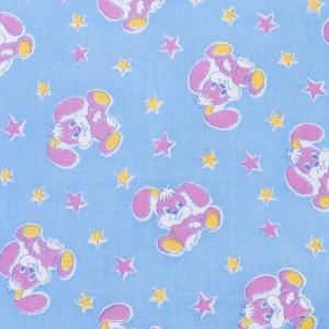 Пеленка ситец белоземельный 8844 цвет синий 90/120