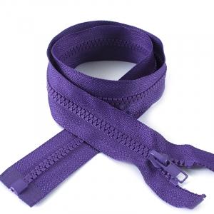 Молния спиральная разъёмная 75см; цвет: 865 - фиолетовый