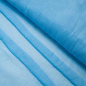 Ткань на отрез ситец гладкокрашеный 80 см 65 гр/м2 цвет голубой