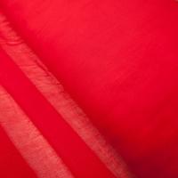 Ткань на отрез ситец гладкокрашеный 80 см 65 гр/м2 цвет красный