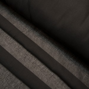 Ткань на отрез ситец гладкокрашеный 80 см 65 гр/м2 цвет черный