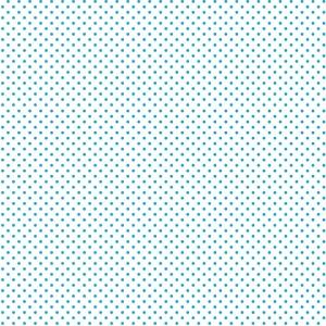 Ткань на отрез ситец 95 см 18848/1 Горох цвет голубой