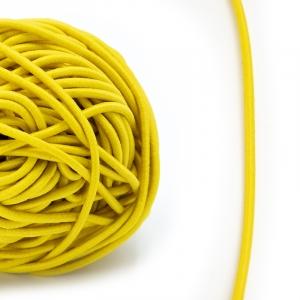 Резинка шляпная 0,25см желтая 1 метр