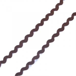 Тесьма плетеная вьюнчик С-3014 (3582) г17 уп 20 м ширина 8 мм (5 мм) цвет 055