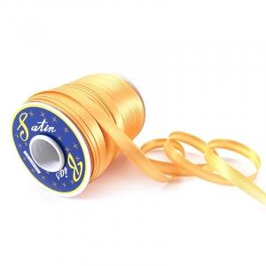 Косая бейка ширина 15 мм (132 м)  цвет F111 желтый