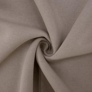 Ткань на отрез футер 3-х нитка компакт пенье начес цвет визон