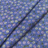 Ткань на отрез бязь плательная 150 см 1811/1 цвет сирень