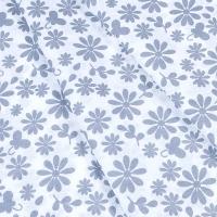 Ткань на отрез бязь плательная 150 см 1553/1А цвет серый