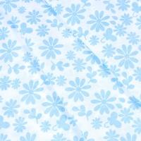 Ткань на отрез бязь плательная 150 см 1553/7А цвет голубой
