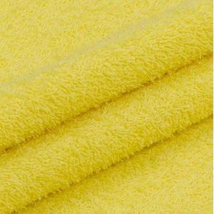 Махровая ткань 220 см 380гр/м2 цвет желтый