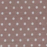 Бязь плательная 150 см 1359/8 цвет коричневый фон серый мелкий горох