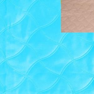 Ультрастеп 220 +/- 10 см цвет бирюзовый-бежевый на отрез