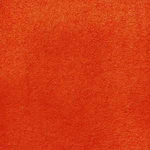 Простынь махровая цвет Оранжевый 190/200