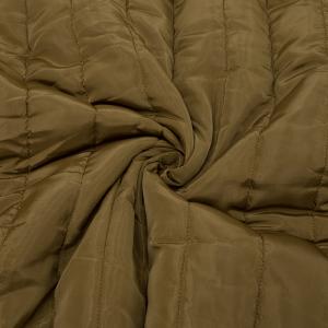 Курточная ткань на отрез цвет коричневый