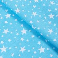 Ткань на отрез бязь плательная 150 см 1556/6 цвет бирюза