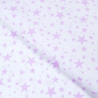 Ткань на отрез бязь плательная 150 см 1556/8А цвет розовый