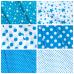 Ткань на отрез бязь плательная 150 см 1556/3А цвет морская волна