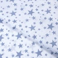 Ткань на отрез бязь плательная 150 см 1556/2А цвет серый