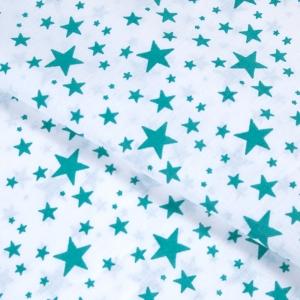 Ткань на отрез бязь плательная 150 см 1556/5А цвет изумруд