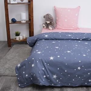 Детское постельное белье из бязи 1.5 сп 204561 Звездное небо 1 сер