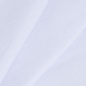 Ткань на отрез кулирка с лайкрой 6162 цвет белый