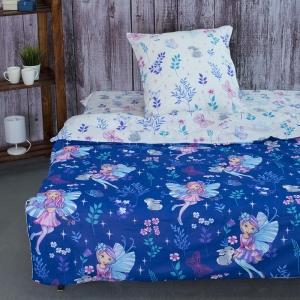 Детское постельное белье из бязи 1.5 сп 204511 Лесные нимфы 1