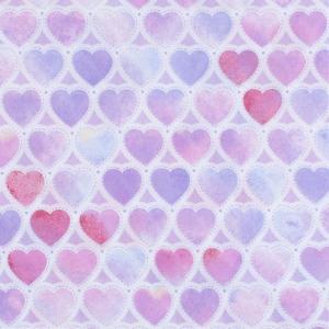 Ткань на отрез перкаль 150 см 8808/1 Сердечки