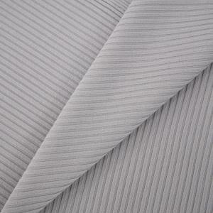 Ткань на отрез трикотаж лапша цвет серый