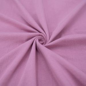 Ткань на отрез кулирка М-2054 цвет лиловый