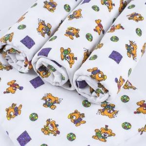 Набор детских пеленок фланель 4 шт 90/120 см 156-1П