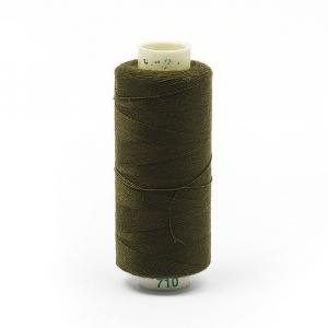 Нитки бытовые Dor Tak 40/2 366м 100% п/э, цв.710 оливковый