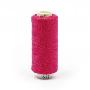 Нитки бытовые Dor Tak 40/2 366м 100% п/э, цв.518 розовый