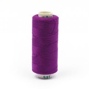 Нитки бытовые Dor Tak 40/2 366м 100% п/э, цв.527 фиолетовый