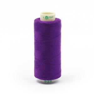 Нитки бытовые Dor Tak 40/2 366м 100% п/э, цв.528 фиолетовый
