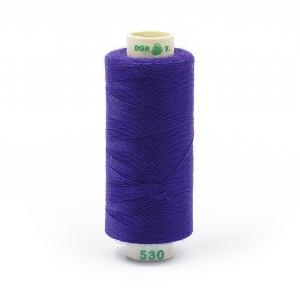 Нитки бытовые Dor Tak 40/2 366м 100% п/э, цв.530 фиолетовый