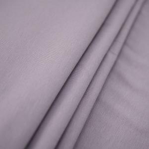 Ткань на отрез кулирка с лайкрой цвет корица
