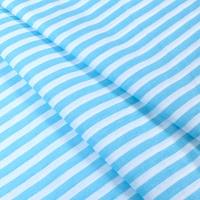 Ткань на отрез бязь плательная 150 см 1552/17А цвет бирюза