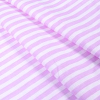 Ткань на отрез бязь плательная 150 см 1552/18А цвет розовый