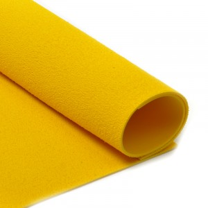 Фоамиран махровый 2 мм арт.MG.TOW.N027 цв.желтый, 20х30 см