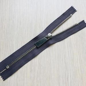 Молния металл №5 никель н/р 16см D310 серый