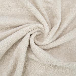 Ткань на отрез махровое полотно 150 см 390 гр/м2 цвет бежевый