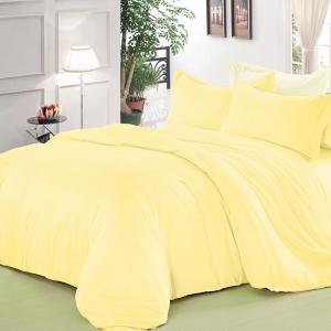 Полисатин гладкокрашеный 220 см цвет 11-0609 желтый