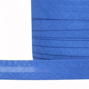Косая бейка хлопок ширина 15 мм (132 м) цвет F223 синий