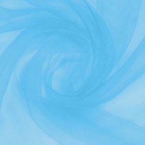 Вуаль 280 см цвет 2 голубой