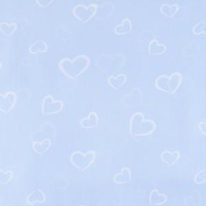Бязь плательная 150 см 1970/2 Флирт цвет голубой о/м
