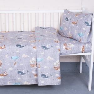 Постельное белье в детскую кроватку 7339/1 Фантазеры