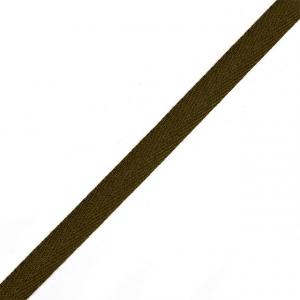 Тесьма киперная 10 мм хлопок 1,8г/см арт.08с-3495 цв.оливковый