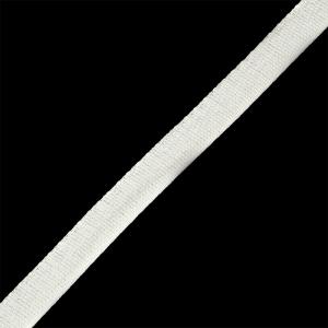 Тесьма киперная 13 мм хлопок 1,8г/см арт.12.2С-253К.13.003 цв.белый